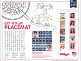 Tip 29 Eat 'N' Play Placemat