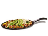 The new protein packed 'Fit Fare® Baja Skillet' offers a sizzlin' start to any day, bursting with red skinned potatoes, steamed vegetables, fresh avocado and egg whites.