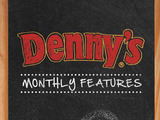 "Denny's introduces new ""Monthly Features"" menu, a classic diner tradition"