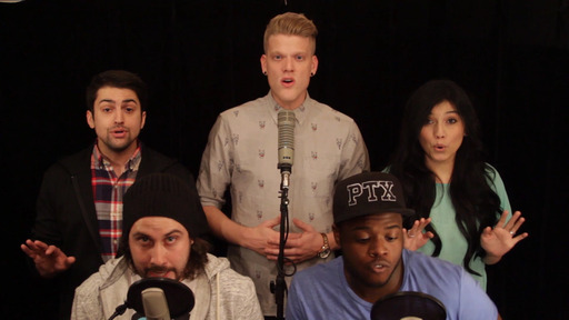 Pentatonix Getting Magical and Musical for the Lucky Charms Commercial