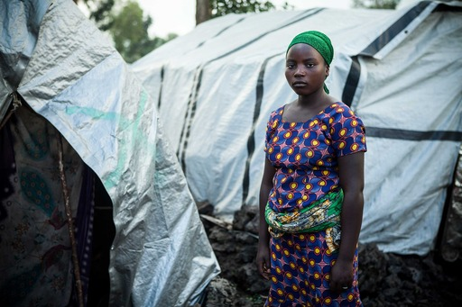 """Living in the camp for a girl is not good, because when you do not have anything to eat, you can easily become a prostitute."" Mariamu, 14. Photo Credit: Simon Rawles/World Vision"