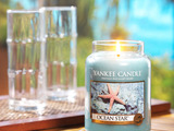 Yankee Candle's Ocean Star™, one of five new fragrances for 2014, evokes peaceful, sun-kissed waters laced with aloe, citrus and lotus blossom.