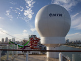 MTN's new hybrid network on Norwegian Getaway combines satellite and terrestrial broadband for higher-performance connections at-sea and in-port.