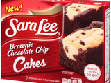Sara Lee Brownie Chocolate Chip Packaging