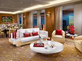 Living Room in Sky Villa Suite at The New Tropicana resort in Las Vegas