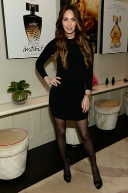 Actress Megan Fox, the face of #AvonInstinct