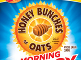 New Honey Bunches of Oats Morning Energy Cinnamon Crunch cereal