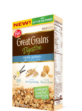 Great Grains Digestive Blend Vanilla Graham