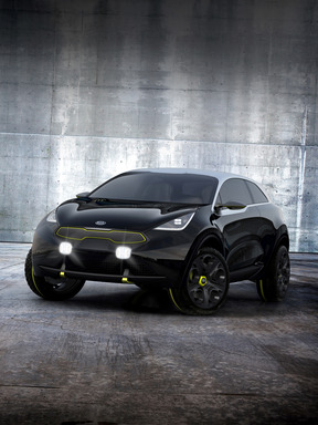 Niro's B-segment design is futuristic, upscale and performance-inspired