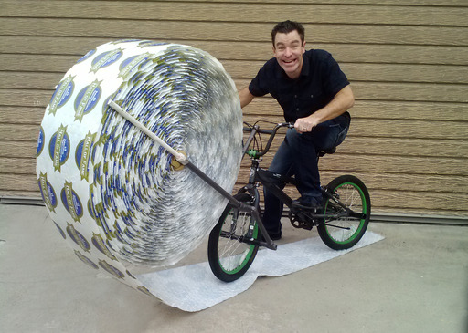 Bubble Wrap Eric Buss