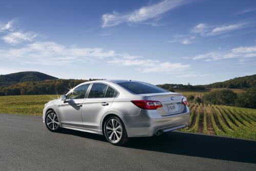 The all new 2015 Subaru Legacy