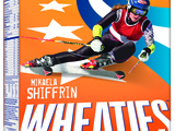 Mikaela Shiffrin Wheaties Box