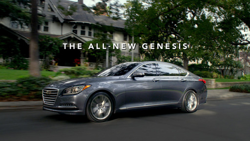 "Hyundai's 30-second, game-day spot, ""Dad's Sixth Sense,"" featuring  the all-new 2015 Hyundai Genesis, airing during the first quarter of Super Bowl XLVIII on February 2, 2014."