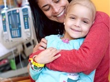 St. Jude Patient Rafaella with her mom