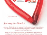 JTV Goes Red for Women this February