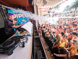 Diplo at Encore Beach Club inside Wynn Las Vegas