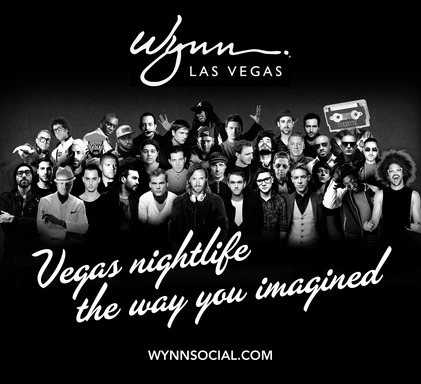 Wynn Las Vegas daylife and nightlife venues reveal diversified residency roster for 2014