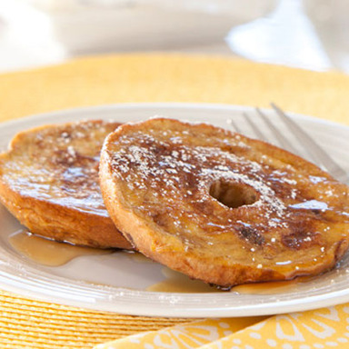 French Toast Mini Bagels