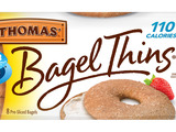 Thomas' 100% Whole Wheat Bagel Thins bagels