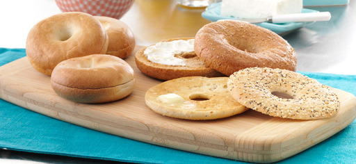 Thomas' Bagels come in all sizes