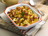 Celebrate St. Patrick's Day with a hearty, mouthwatering casserole of potatoes, apples, bacon and Kerrygold butter.