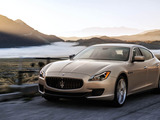 With a base price of just over $100K, Maserati's flagship Quattroporte is a full-size luxury performance sedan and proven competitor in rear-wheel-drive and all-wheel-drive platforms.
