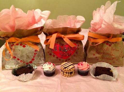 Gift Idea #5:  DIY Goodie Bag!  Decorate a brown paper lunch bag for a personal touch