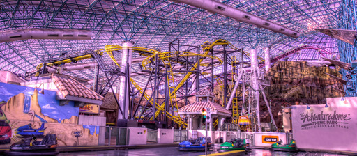 El Loco rides into The Adventuredome at Circus Circus in Las Vegas introducing G drops, gravity-defying turns and over-the-edge twists for thrill seekers of all ages.