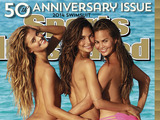 Nina Agdal, Lily Aldridge and Chrissy Teigen are  the Sports Illustrated Swimsuit 2014 Cover Models. The 50th Sports Illustrated Swimsuit edition goes live across the web, mobile, tablet on Feb 18.  Photo Credit: James Macari for Sports Illustrated*