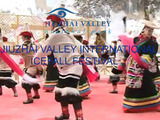 JiuZhai Valley International Icefall festival