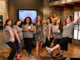 New Season, New Mission: Host Julie Moran with Mission Makeover Season 3 women ready to start journey to become fit and fabulous