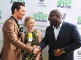 Unilever Project Sunlight ambassador Sarah Michelle Gellar, Matthew McConaughey and Steve McQueen talk about creating a brighter future on the Yellow Carpet at the 2014 Film Independent Spirit Awards