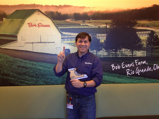 Bob Evans supports JDRF in the fight to cure T1D. Buy a JDRF paper sneaker today!