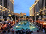 Thousands gathered at Caesars Palace's Garden of Gods Pool Oasis for Grand Tasting during Vegas Uncork'd