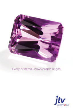 Every princess knows purple reigns.