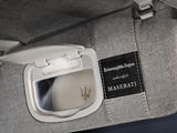 "Carrying the exclusive brand label ""Ermenegildo Zegna Exclusively for Maserati,"" the Quattroporte Ermenegildo Zegna Limited Edition utilizes the same fine grey jersey silk fabric for its sunshades and roof lining."