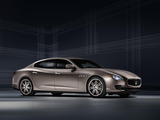 The exclusive Quattroporte Ermenegildo Zegna Limited Edition, making its Geneva debut, is presented in its definitive form. A limited series of only 100 cars will go into production in July.