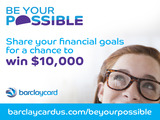 Barclaycard US launches Be Your Possible campaign to promote financial literacy.