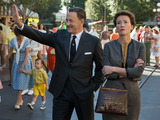 "Walt Disney (Tom Hanks) shows Disneyland to ""Mary Poppins"" author P.L. Travers (Emma Thompson) in Disney's ""Saving Mr. Banks."""
