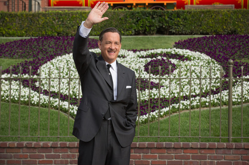"Walt Disney (Tom Hanks) in Disney's ""Saving Mr. Banks""."