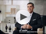 Top decision maker and NCAA® Basketball coach, Jay Wright, makes one easy decision this NCAA® March Madness® – choosing Dove® Men+Care®.