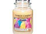 Yankee Candle's new limited edition PEEPS® Marshmallow Chicks fragrance evokes the fluffy, sweet marshmallow scent of the classic spring treat.