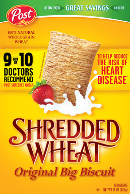 Post Shredded Wheat Original Big Biscuit