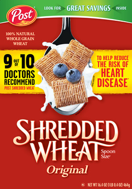 Post Shredded Wheat Original Spoon Size