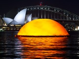 Noctural sunrise in Opera on Sydney Harbour: Madama Butterfly. Photo James Morgan