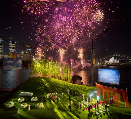 Opera on Sydney Harbour: Madama Butterfly. Photo James Morgan for Opera Australia