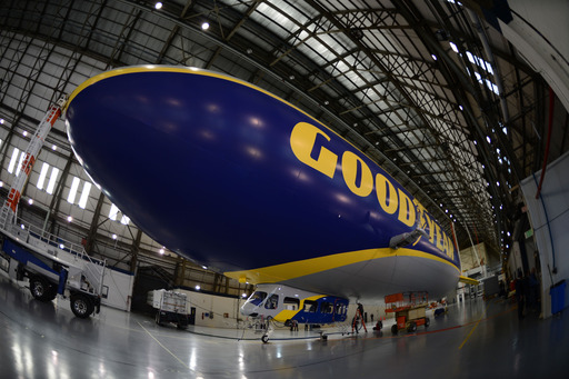 The Goodyear Tire & Rubber Company's newest addition to its airship fleet is faster, bigger and carries the latest in technological advancements.