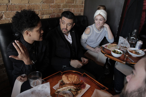 Host Adam Richman discusses Scofflaw's secret menu item, Guapichosa, with Chicago locals.