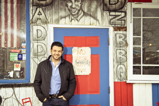 "Travel Channel's ""Man Finds Food"" Host Adam Richman."