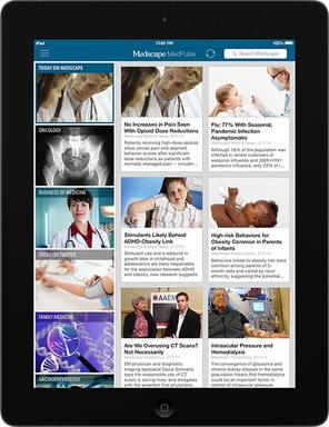MedPulse iPad Homescreen